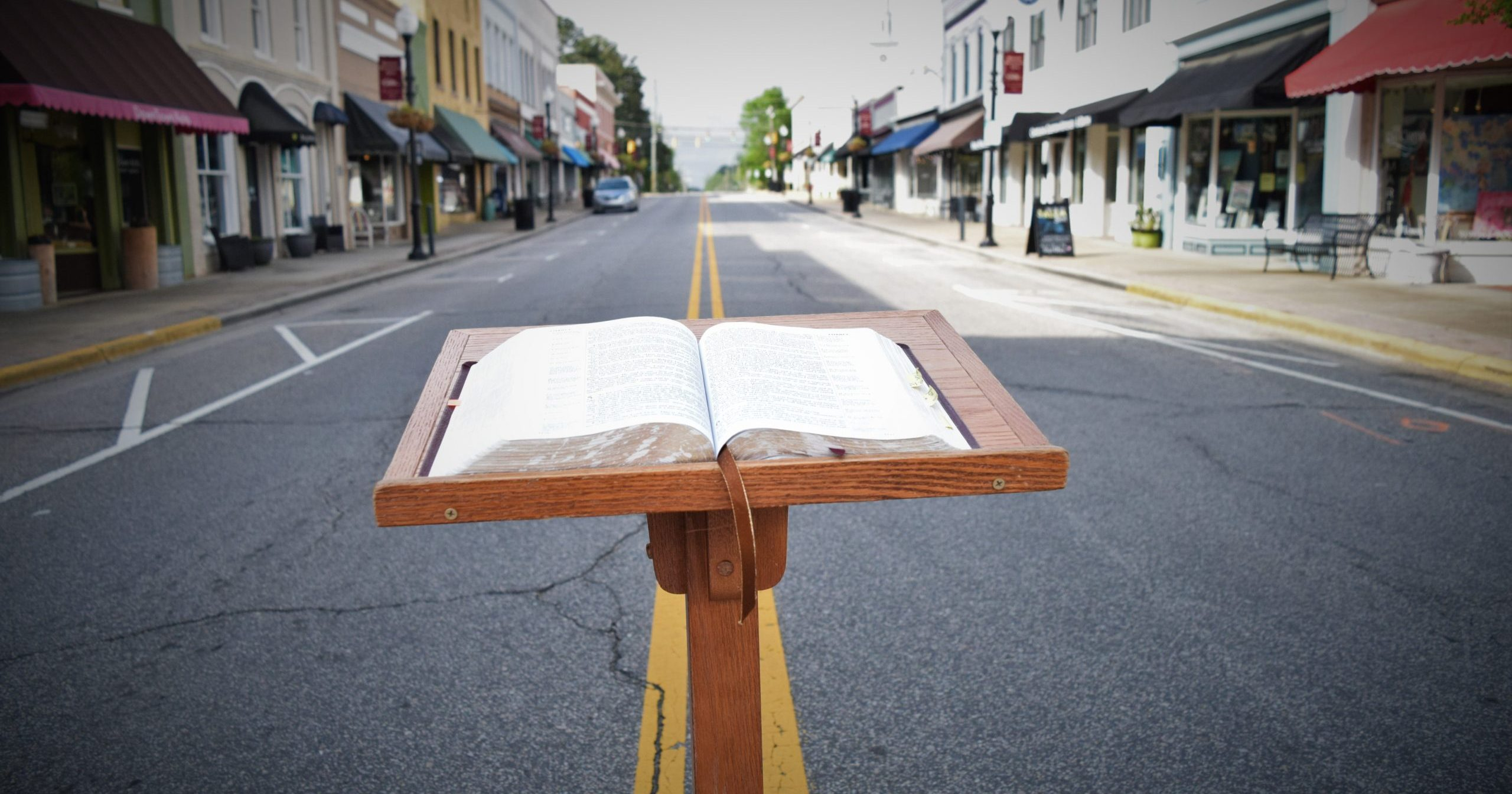 Word on the Street: Where Pulpit Meets Pavement